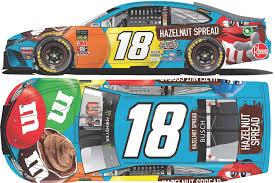 2019 1 24 Kyle Busch M M S Hazelnut Spread Diecast Joe Gibbs Racing Store
