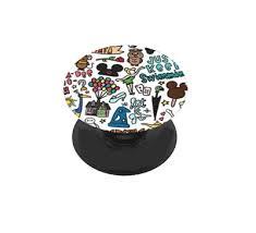 Fits Your Popsocket Pop Socket Disney Pluto Inspired Decal Sticker Skin Collectibles Disneyana