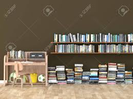 Interior Bookshelf Room Library Kids Room 3d Image Stock Photo Picture And Royalty Free Image Image 58594496