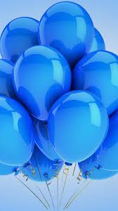 blue cute balloons best hd wallpapers