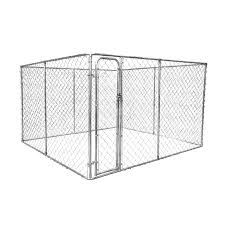 Rapidmesh 2 In 1 Galvanised Steel Dog Run And Kennel Bunnings Warehouse