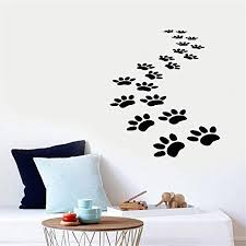 Amazon Com Family Decal Wall Stickers Art Decor Decals Cat Trace Stickers For Living Room Kid Nursery Bedroom Home Kitchen