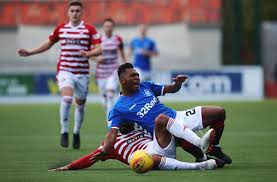 Alfredo Morelos, Alex Penny - Alex Penny Photos - Hamilton Academical vs.  Rangers - Scottish Ladbrokes Premiership - Zimbio