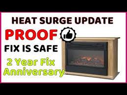 heat surge fix update fixing the beep