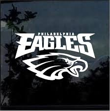 Philadelphia Eagles D2 Window Decal Sticker Custom Sticker Shop