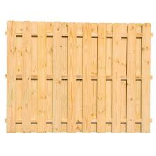 Severe Weather 6 Ft H X 8 Ft W Pressure Treated Pine Wood Fence Panel Lowes Com In 2020 Wood Fence Fence Panels Pine Wood