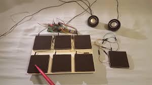 diy electronic drum pad version 1