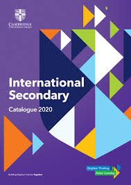 international secondary catalogue by cambridge university