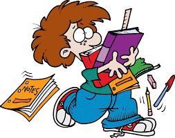 صور كاريكاتيرات مضحكة عن المذاكره والامتحان للفيسبوك 2014
