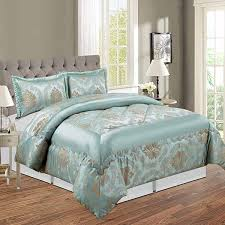 two pillow cases duck egg
