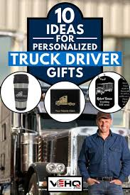 personalized truck driver gifts