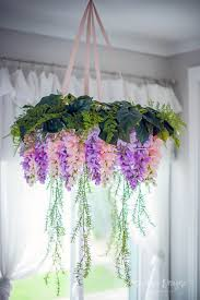 Wisteria Flower Chandelier Baby Mobile Kids Room Girl Nursery Decor Honeydrops Designs