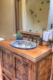 mexican bathroom sink cabinets artcomcrea