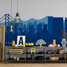San Francisco Skyline Wall Decal By American Decals