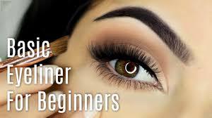 beginners eyeliner makeup tutorial