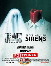 POSTPONED: The Amity Affliction and Sleeping With Sirens – Tickets ...