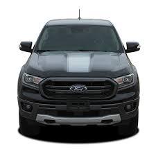 2019 2020 Ford Ranger Hood Stripes Vim Hood Decals Vinyl Graphics Kit 2019 2020