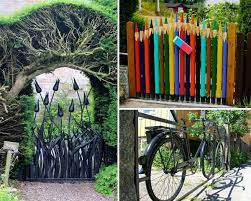 22 beautiful garden gate ideas to