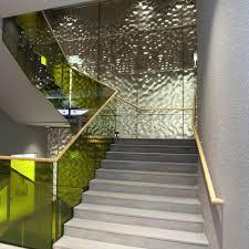 water ripple hammered restaurant design