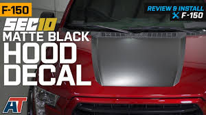 Sec10 F 150 Matte Black Hood Decal T527964 15 20 F 150 Excluding Raptor