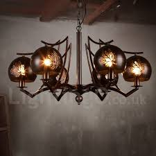 steel lighting living room