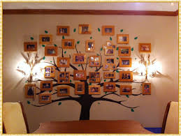 Family Tree Wall Decal Color Strangetowne Spectacular Ideas Family Tree Wall Decal