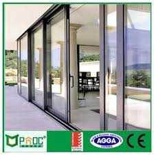 design aluminum sliding door used