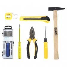 jackly 25 pcs home tool kit