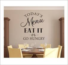 Today S Menu Wall Decal Kitchen Dining Room Decal Funny Etsy In 2020 Kitchen Wall Decals Vinyl Wall Decals Kitchen Dining Room Decal