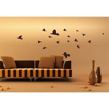 Shop Flock Of Birds Vinyl Sticker Wall Art Overstock 10180669