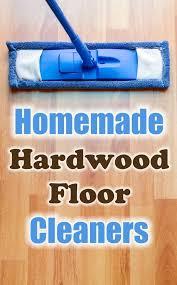 homemade wood floor cleaner recipes