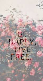 background be happy flower live power quotes spring