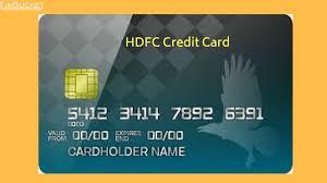 hdfc credit cards reasons range