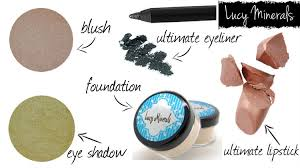 lucy minerals review on makeup