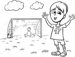 Voetbal Kleurplaat