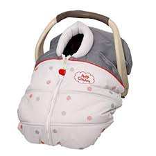 petit coulou mid season car seat cover