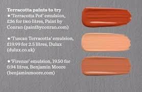 paint palette terracotta terracotta