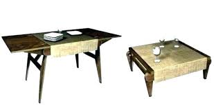 coffee table converts into dining table