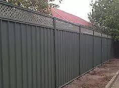 Colorbond Fence Monument 2 1m Inc Lattice 2 35m Long Building Materials Gumtree Australia Kingston Area Moorabbin 1189907735