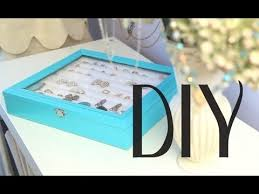 diy rings earrings jewelry display