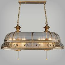 antique copper square pendant light