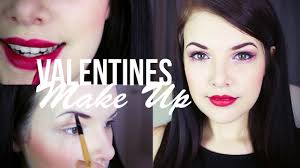 valentines day makeup tutorial ad