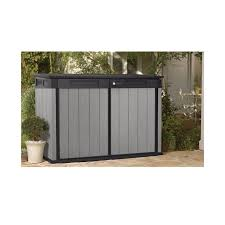 plastic horizontal storage shed