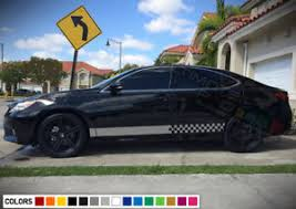 Sticker Decal Vinyl Side Door Finishing Stripes For Toyota Camry Led Lights Body Ebay