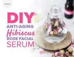 anti aging hibiscus rose serum