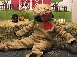 burlap voodoo doll costume for s
