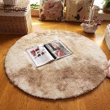 Super Deal 692a Large Soft Shaggy Round Carpet For Living Room Warm Plush Floor Rugs Fluffy Mats Kids Room Faux Fur Area Rug Thick Velvet Mats Cicig Co