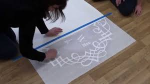 Dance Floor Decal Application Removal Guide Youtube