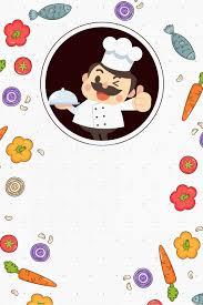 ملصق الطعام الشيف الطبخ الطعام ملصق الغذاء طاه طبخ صورة الخلفية