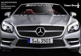 Auto Parts Accessories Amg Mercedes Benz Racing Windshield Banner Vinyl Decal Emlem Logo C55 E55 Cls63 Smaitarafah Sch Id